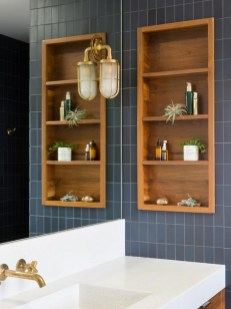 Smart Space Saving Bathroom Solutions Ideas That You Need To Copy 31