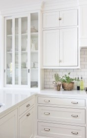 Top White Kitchen Cabinetry Design Ideas That Looks More Modern 10