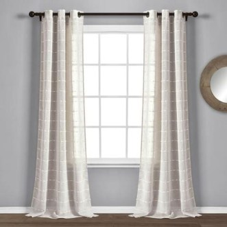 Wonderful Farmhouse Curtains Decor Ideas For Living Room To Try Asap 13