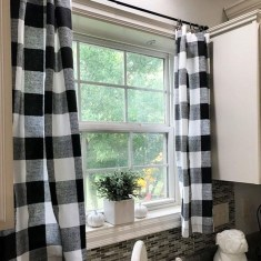 Wonderful Farmhouse Curtains Decor Ideas For Living Room To Try Asap 23