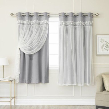 Wonderful Farmhouse Curtains Decor Ideas For Living Room To Try Asap 25
