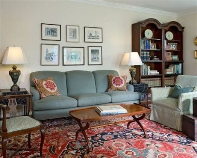 Best Ideas For Traditional Living Rooms With Oriental Rugs 08