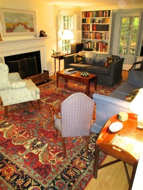 Best Ideas For Traditional Living Rooms With Oriental Rugs 09