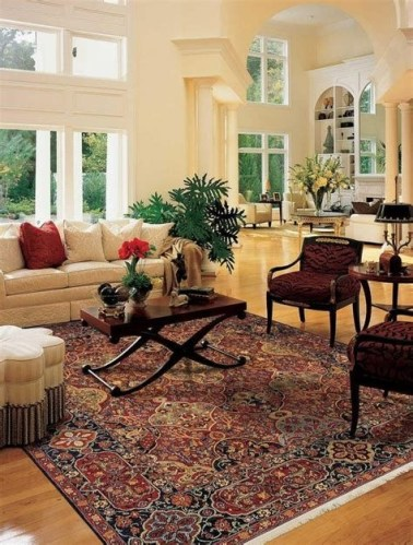 Best Ideas For Traditional Living Rooms With Oriental Rugs 37