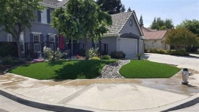 Brilliant Front Yard Corner Lot Landscaping Ideas 02