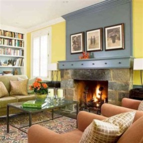 Cool Chimney Ideas For Living Room 04