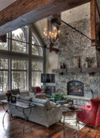 Cool Chimney Ideas For Living Room 05