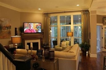 Cool Chimney Ideas For Living Room 12