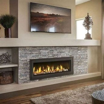 Cool Chimney Ideas For Living Room 13