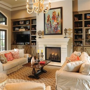 Cool Chimney Ideas For Living Room 14