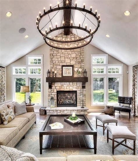 Cool Chimney Ideas For Living Room 15