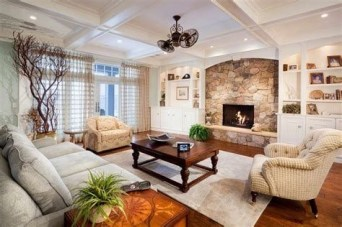 Cool Chimney Ideas For Living Room 17