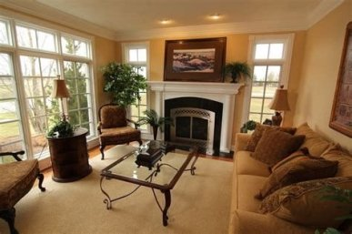 Cool Chimney Ideas For Living Room 25