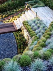 Totally Cute Sloped Backyard Landscaping Ideas 12