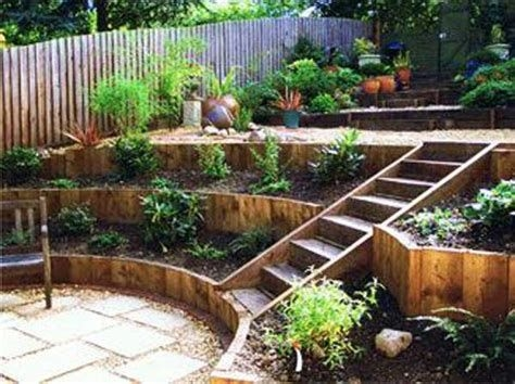 Totally Cute Sloped Backyard Landscaping Ideas 18