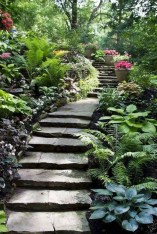 Totally Inspiring Front Yard Pathway Ideas 02