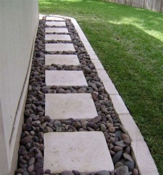 Totally Inspiring Front Yard Pathway Ideas 08