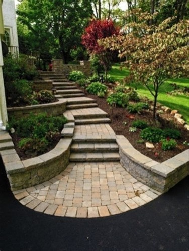Totally Inspiring Front Yard Pathway Ideas 21