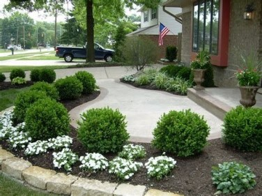 Totally Inspiring Front Yard Pathway Ideas 40