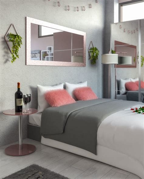 Awesome Burgundy And Grey Bedroom Ideas 09