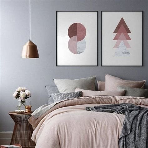 Awesome Burgundy And Grey Bedroom Ideas 15