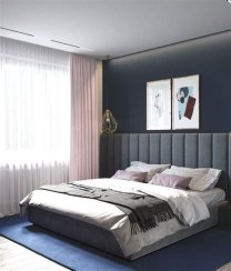 Awesome Burgundy And Grey Bedroom Ideas 26