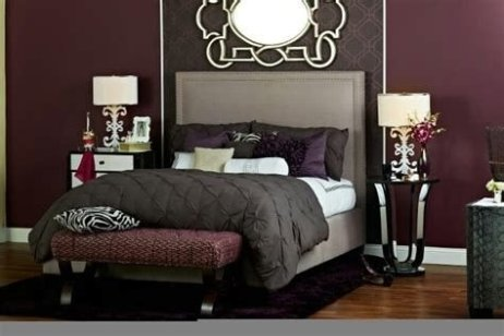 Awesome Burgundy And Grey Bedroom Ideas 33