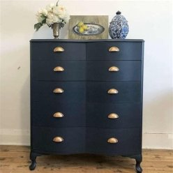 Cool Navy Painted Bedroom Furniture Ideas 05