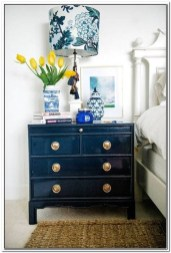 Cool Navy Painted Bedroom Furniture Ideas 09
