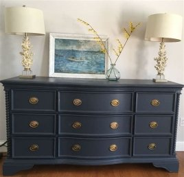 Cool Navy Painted Bedroom Furniture Ideas 39