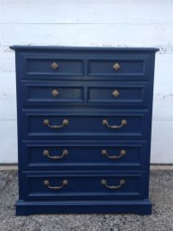 Cool Navy Painted Bedroom Furniture Ideas 40