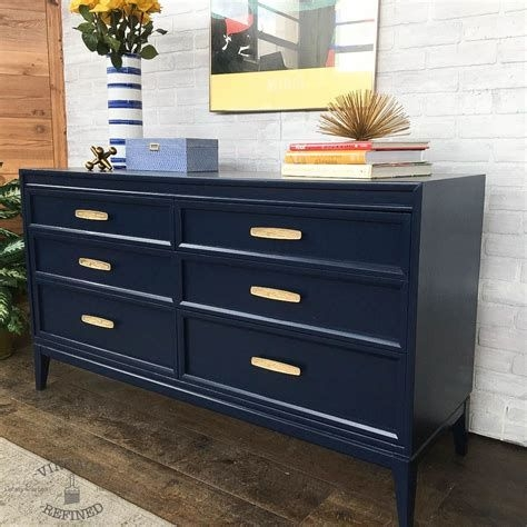 Cool Navy Painted Bedroom Furniture Ideas 41