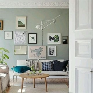 Creative Sage Green Accent Wall Bedroom Ideas 03