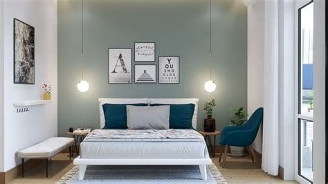 Creative Sage Green Accent Wall Bedroom Ideas 06