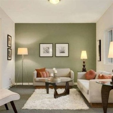 Creative Sage Green Accent Wall Bedroom Ideas 14