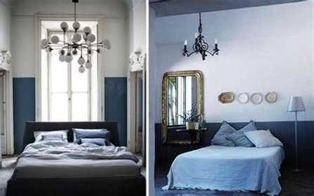 Lovely Two Tone Bedroom Paint Ideas 01