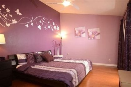 Lovely Two Tone Bedroom Paint Ideas 18