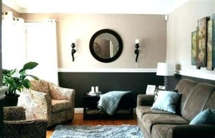 Lovely Two Tone Bedroom Paint Ideas 35