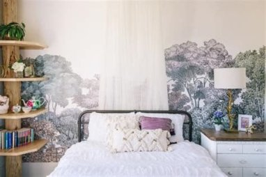 Most Popular Nature Themed Bedroom Ideas 17