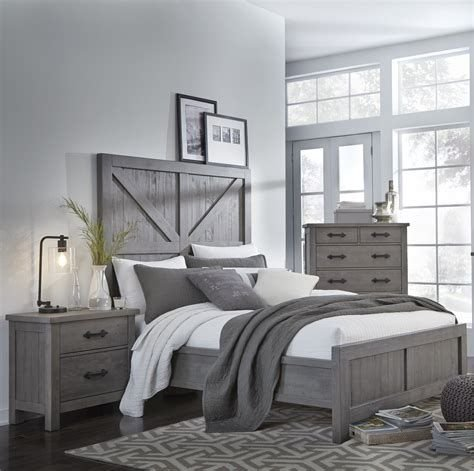 Totally Cute Charcoal Grey Bedroom Set Ideas 17