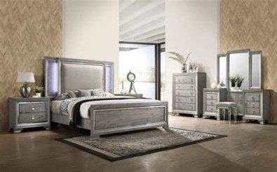 Totally Cute Charcoal Grey Bedroom Set Ideas 31