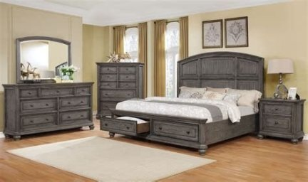 Totally Cute Charcoal Grey Bedroom Set Ideas 36
