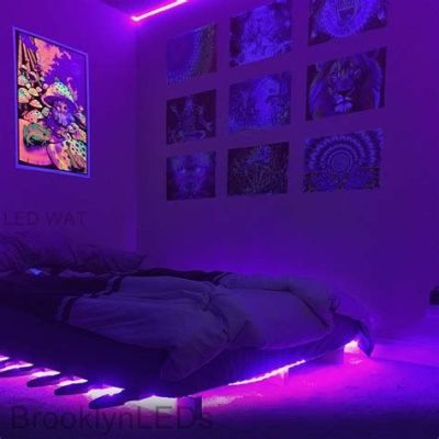 Amazing Aesthetic Rooms With Led Lights Ideas 07