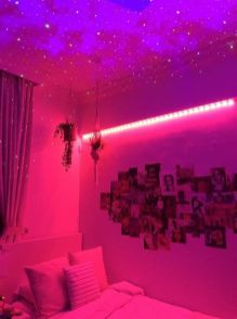 Amazing Aesthetic Rooms With Led Lights Ideas 28