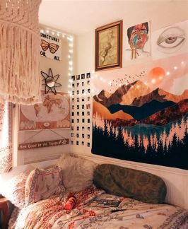Cool Aesthetic Bedroom Background Ideas 31
