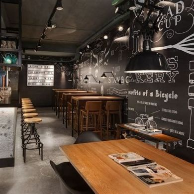 Lovely Low Budget Small Restaurant Design Ideas 03