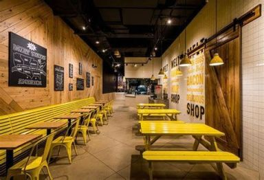 Lovely Low Budget Small Restaurant Design Ideas 06