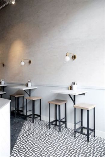 Lovely Low Budget Small Restaurant Design Ideas 27