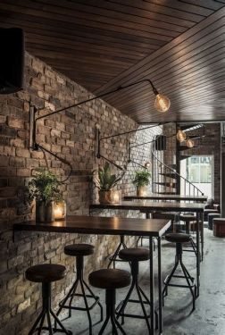Lovely Low Budget Small Restaurant Design Ideas 35