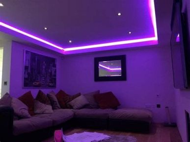 Most Popular Aesthetic Room With Led Lights Ideas 03